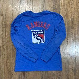 Rangers long sleeve shirt size medium